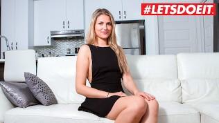 LETSDOEIT – Hot French Babe Nailed Hardcore at Casting